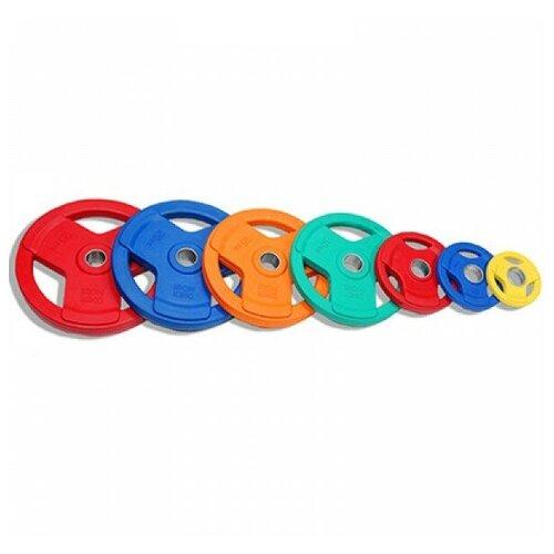 Набор блинов для штанги Iron King 1.25-25 кг ( 7 шт) перекладины в треугольнике iron king wo 12