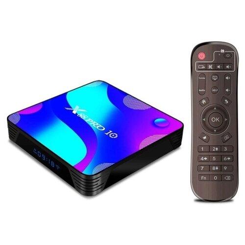 Фото - Смарт ТВ приставка Android TV Box Vontar X88 Pro 10 4/64GB тв приставка лайм tv box z2 plus 4 32 гб