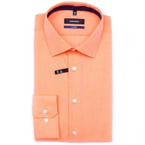 Рубашка Seidensticker размер 40 оранжевый