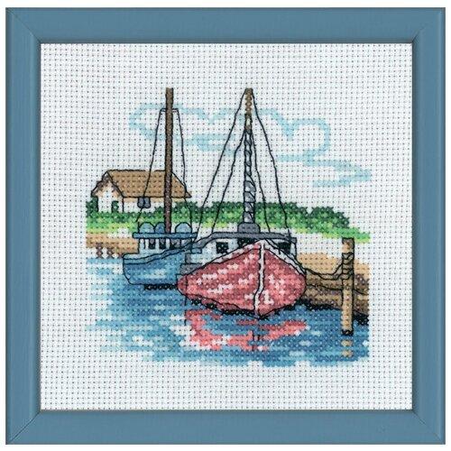 Набор для вышивания Два парусных судна