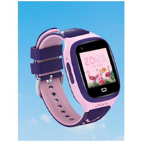 Детские умные смарт-часы Smart Baby Watch LT31E 4G с поддержкой Wi-Fi и GPS, HD камера, SIM card (Розовый) детские умные часы телефон с gps smart baby watch df25 голубые