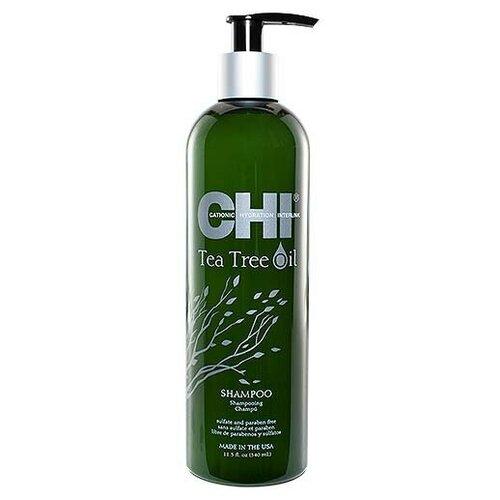 Купить CHI Tea Tree Oil Shampoo - Шампунь для волос с маслом чайного дерева, 340 мл