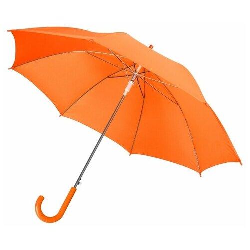 Зонт-трость полуавтомат Unit Promo (1233) оранжевый