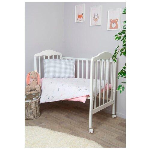 Фото - Сонный Гномик комплект Стрекоза-Егоза (3 предмета) розовый сонный гномик бортики подушки стрекоза егоза розовый