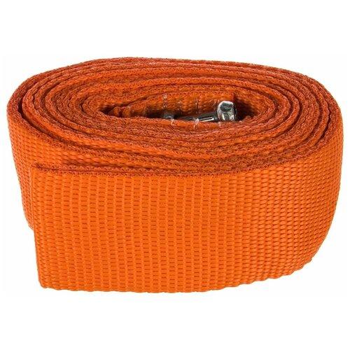 Ленточный буксировочный трос TOP AUTO 48842К (12 т) оранжевый