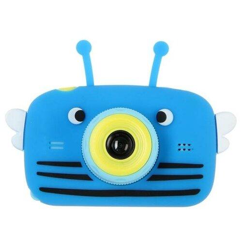 "Фотоаппарат Сима-ленд Children's Fun Camera Bee ""Пчела"" синий"
