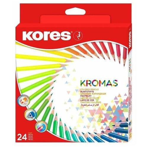 Kores Карандаши цветные Kromas, 24 цвета (1054856)