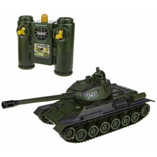 Танк 1 TOY Взвод. Танковый бой (Т17686) 1:28 35 см зелeный