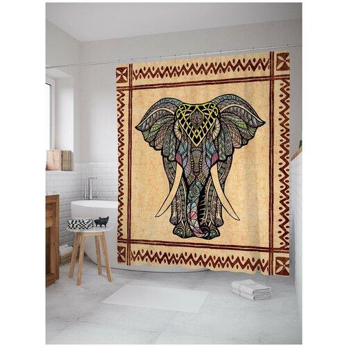 Фото - Штора для ванной JoyArty Слон из грез 180х200 (sc-6844) штора для ванной joyarty слон в душе 180х200 sc 8358