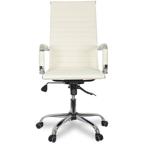 Компьютерное кресло College CLG-620 LXH-A для руководителя, обивка: искусственная кожа, цвет: бежевый