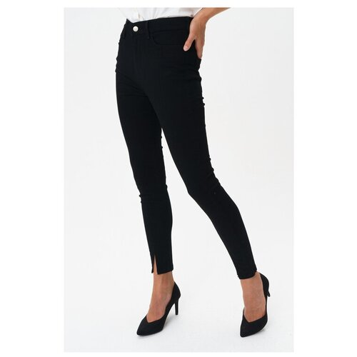 Брюки Vero Moda, размер 27, черный майка vero moda 10212778 размер xs черный