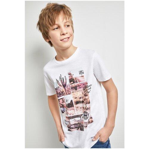 Фото - Футболка для мальчиков размер 158, белый, ТМ Acoola, арт. 20110110285 футболка acoola размер 158 белый
