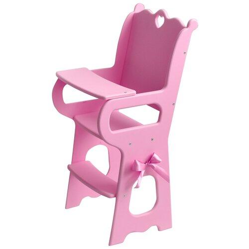PAREMO Кукольный стульчик для кормления (PFD120-57) розовый paremo кукольный стульчик для кормления мини pfd120m белый