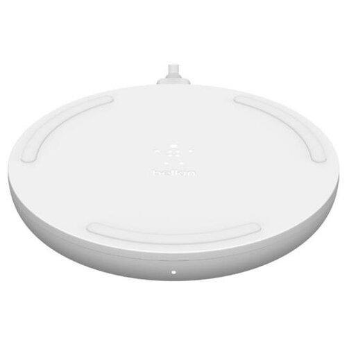 Фото - Беспроводное зарядное устройство Belkin Boost Charge Wireless Charging Pad WIA001btWH, white зарядное устройство belkin universal microusb white