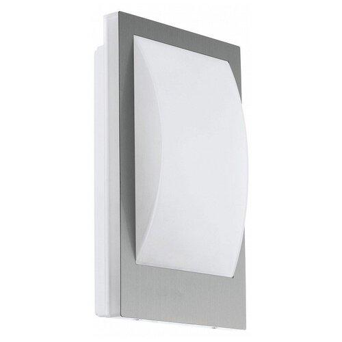 Фото - Накладной светильник Eglo, 1х9W, серый, размеры (мм)-180x290x90, 3000К, плафон - белый накладной светильник novotech 3х12w белый размеры мм 105x38x236 3000к плафон белый черный
