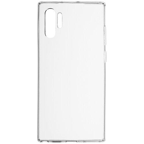 Силиконовый чехол прозрачный Samsung Galaxy Note 10 Plus
