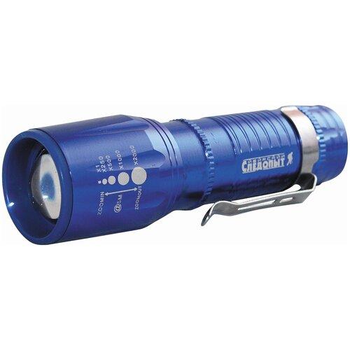 Фото - Ручной фонарь СЛЕДОПЫТ Вега синий ручной фонарь следопыт профи pf pfl l63 черный