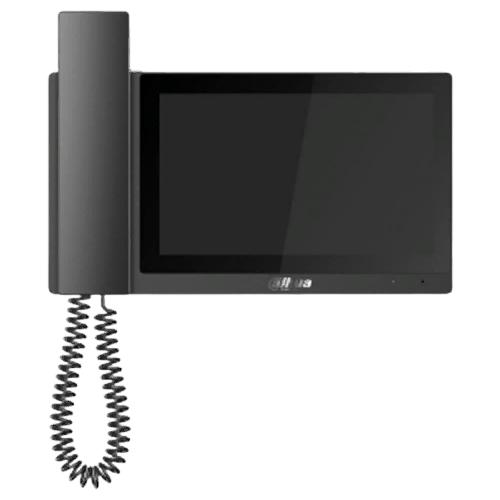 Фото - Домофон (переговорное устройство) Dahua DH-VTH5421E-H черный (домофон) домофон переговорное устройство tantos lilu sd белый домофон