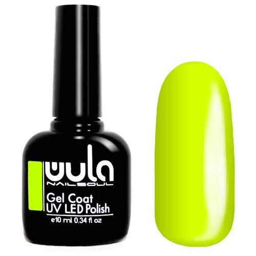 Гель-лак для ногтей WULA Gel Coat, 10 мл, 395 желтый неон лак wula базовая палитра 16 мл оттенок 13 капучино