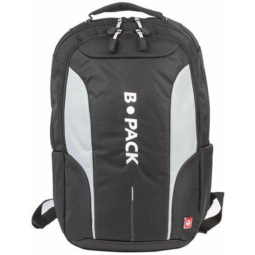 Городской рюкзак B-PACK S-04 226950, черный/серый