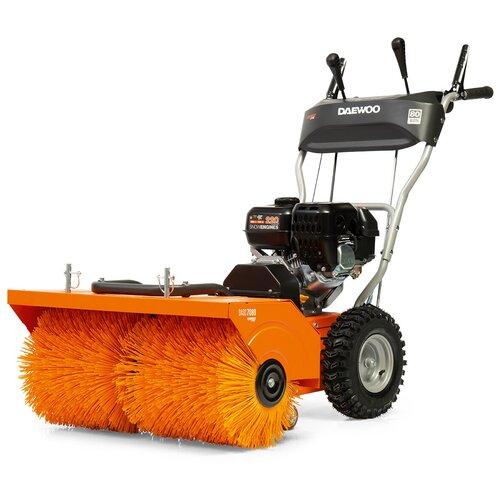 Фото - Подметальная машина Daewoo Power Products DASC 7080 черный/оранжевый пылесос автомобильный daewoo power products davc100 черный оранжевый