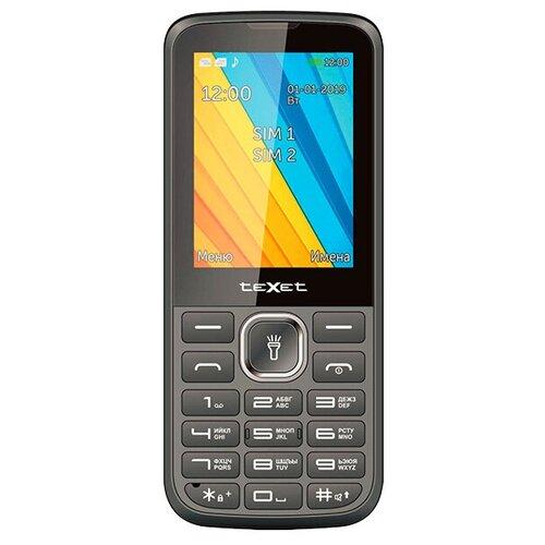 Телефон teXet TM-213 черный