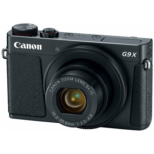 Фотоаппарат Canon PowerShot G9 X Mark II черный