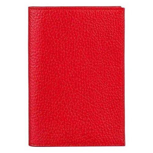 Обложка для автодокументов FABULA BV.1.BK, красный
