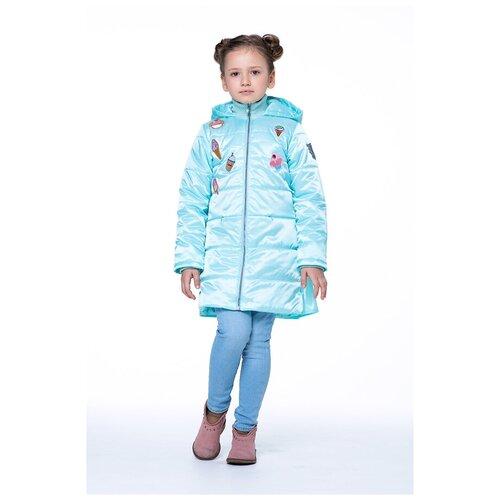 Фото - Плащ для девочки Talvi 92430, размер 122/60, цвет светлая бирюза кофта для девочки leadgen цвет серый g427011812 171 размер 122