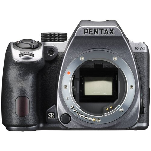 Фотоаппарат Pentax K-70 Body серебристый