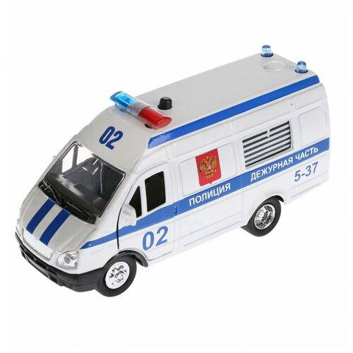 Фото - Машина Технопарк Газель Полиция инерционная 144740 машина технопарк chevrolet tahoe инерционная 280925