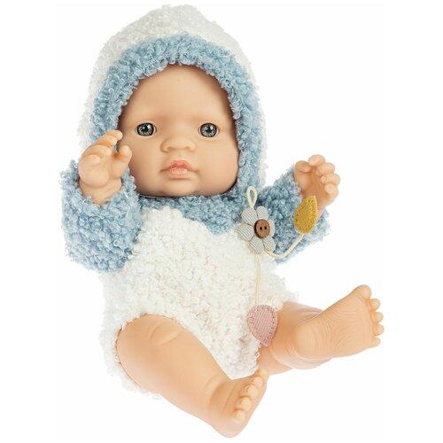 Фото - Кукла МАЛЫШ голубой костюм Oly Bondibon мягкие игрушки bondibon кукла oly ника 26 см