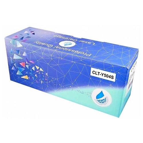 Фото - Картридж Aquamarine CLT-Y504S (совместимый с картриджем Samsung CLT-Y504S) картридж aquamarine ml 1210d3 совместимый с картриджем samsung ml 1210d3