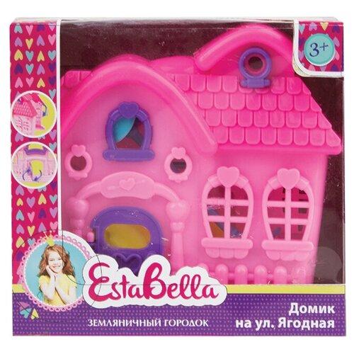 EstaBella Земляничный городок Домик на ул Ягодная 62230, розовый