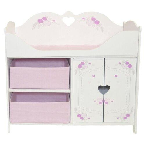 Купить PAREMO Кроватка-шкаф для кукол Розали Мини (PRT320-04M) пастель, Мебель для кукол