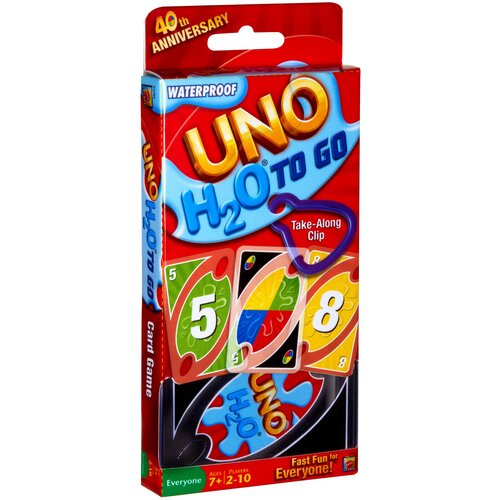 Фото - Настольная игра Mattel Uno H2O P1703 настольная игра уно дисплей uno