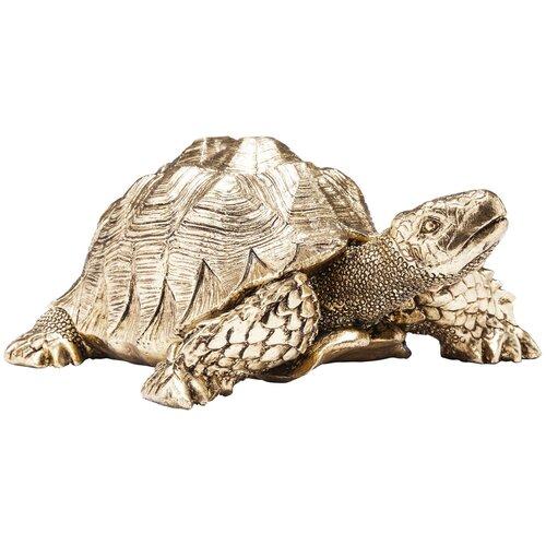 KARE Design Статуэтка Turtle, коллекция Черепаха 26*11*20, Полирезин, Золотой статуэтка faberge oc33719 серый золотой черный