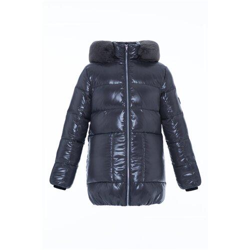 Купить Куртка для девочки Talvi 93823, размер 140/68, цвет серый, Куртки и пуховики
