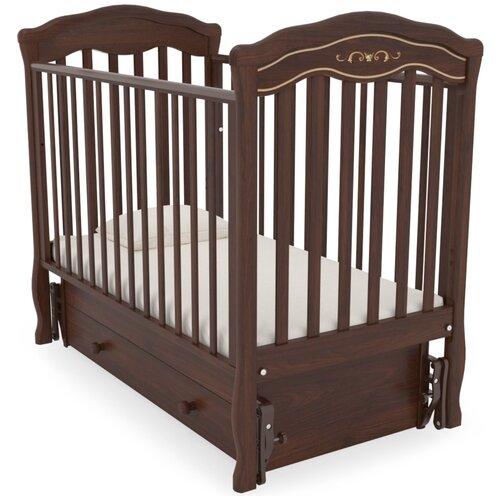 Кровать детская GANDYLYAN К-2003-2м Шарлотта Люкс маятник универсальный (махагон) gandylyan кроватка gandylyan дашенька маятник универсальный орех