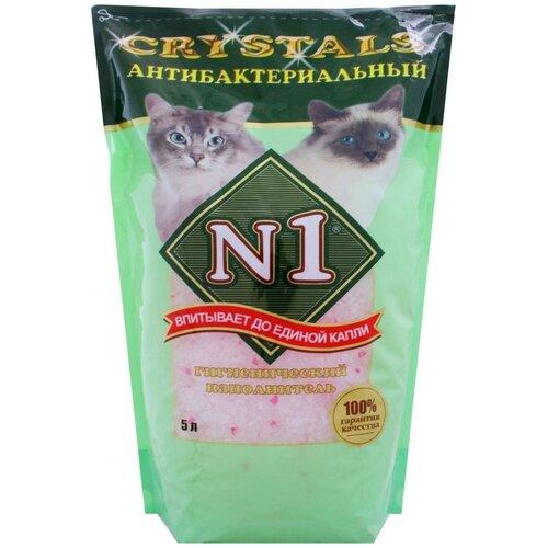 tea1733p n1 Впитывающий наполнитель N1 Crystals Антибактериальный, 5 л