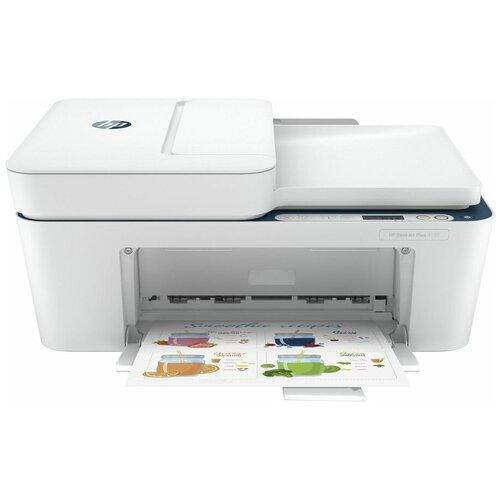 Фото - МФУ HP DeskJet Plus 4130, белый мфу hp deskjet 2720 белый