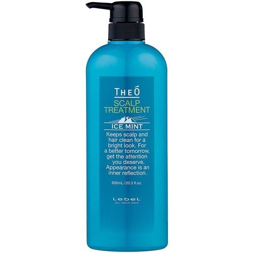 Lebel Cosmetics Крем-уход для кожи головы и волос Theo Scalp Treatment Ice Mint, 600 мл недорого