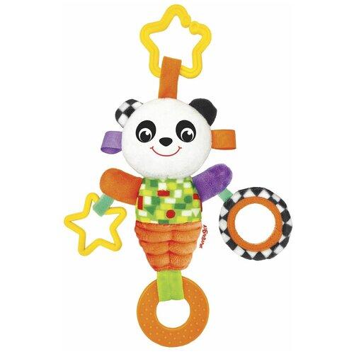 Фото - Подвесная игрушка Азбукварик Панда Люленьки желтый/оранжевый подвесная игрушка азбукварик зайчонок люленьки желтый голубой
