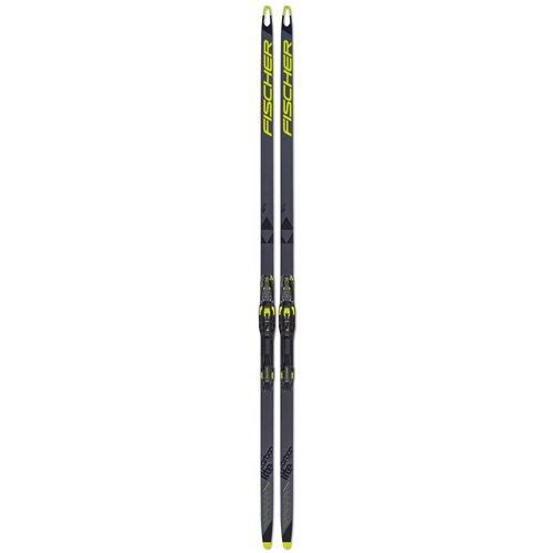 fischer carbonlite cl plus stiff ifp Беговые лыжи Fischer Carbonlite Skate Plus X-Stiff IFP серый/черный/желтый 2021-2022 186 см