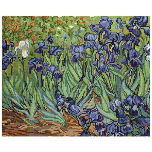 Купить Набор для вышивания, Ирисы, Luca-S 42, 5 x 34 см B444, Наборы для вышивания