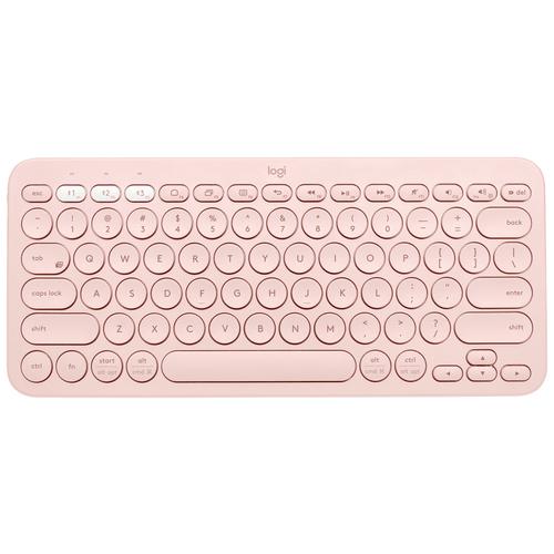 Клавиатура Logitech K380 Multi-Device Bluetooth розовый