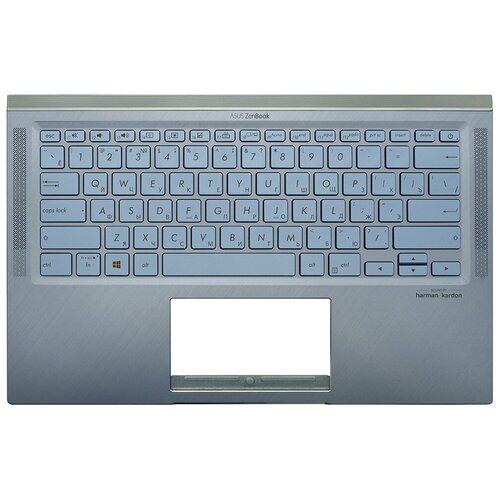 Топ-панель Asus ZenBook 14 UM431DA голубая