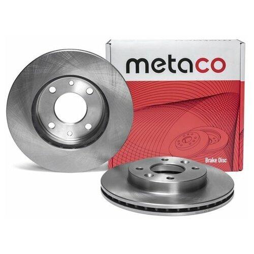 Диск тормозной передний вентилируемый (Производитель: METACO 3050072)