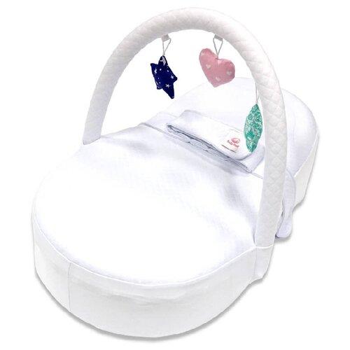 Farla Кокон-люлька для новорожденного Farla Baby Shell Toys с игрушками белый