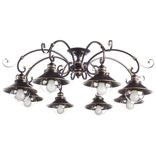 Люстра Arte Lamp Grazioso A4577PL-8CK потолочная люстра arte lamp a4577pl 8ck